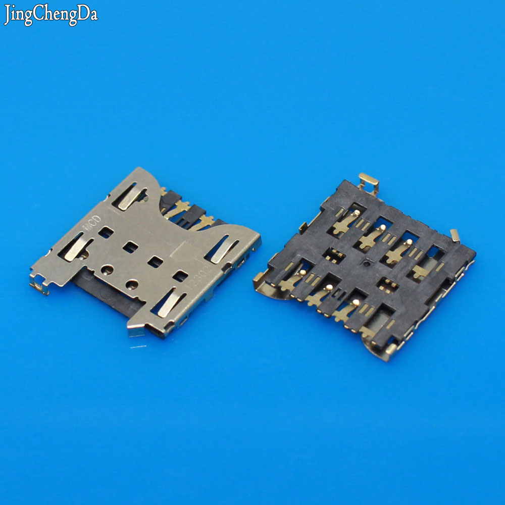 Jing Cheng Da 2pcs/lot New Sim Card Reader Connector Holder Tray Slot Socket for Blackberry Z10 Q10