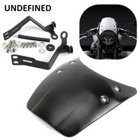 Motorcycle Accessories Black Aluminium Front Fly Screen Headlight Fairing Cover For 2014 2015 2017 BMW R nine T R9T UNDEFINED