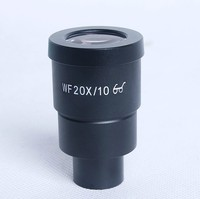 1pc WF20X High Eye-Point Eyepieces for Stereo Microscope with Diameter 30mm