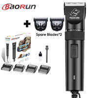 Baorun S1 High Power Dog Hair Cutter Professional Electric Pet Cat Clipper Grooming Trimmer Pets Haircut Shaver Mower For Animal