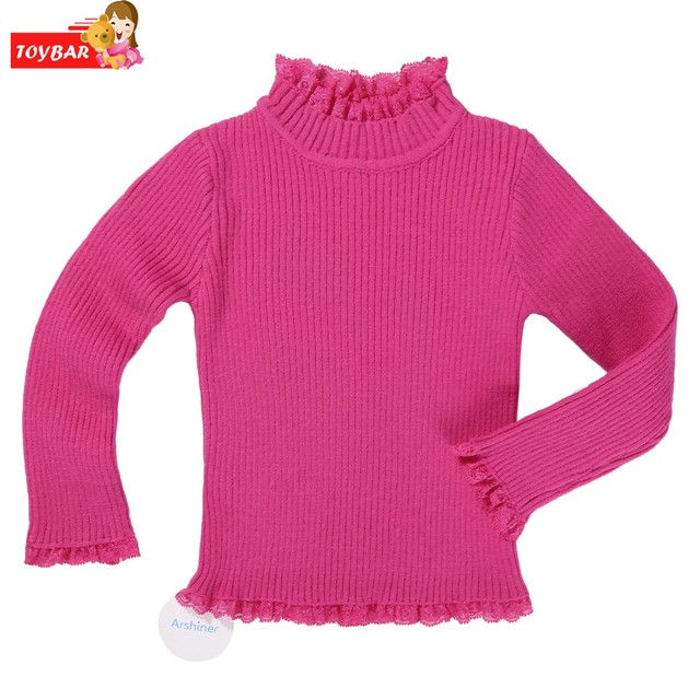 ada61c7c5fb7 Fashion Baby Girls Boys Clothes Kids Girl Long Sleeve Sweater ...