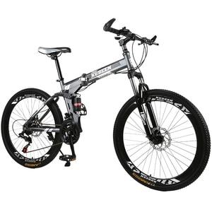 KUBEEN mountain bike 26-inch steel 21-speed bicycles dual disc brakes variable speed road bikes racing bicycle BMX Bike 4.2(China)