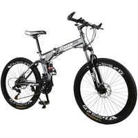 KUBEEN mountain bike 26-inch steel 21-speed bicycles dual disc brakes variable speed road bikes racing bicycle BMX Bike 4.2