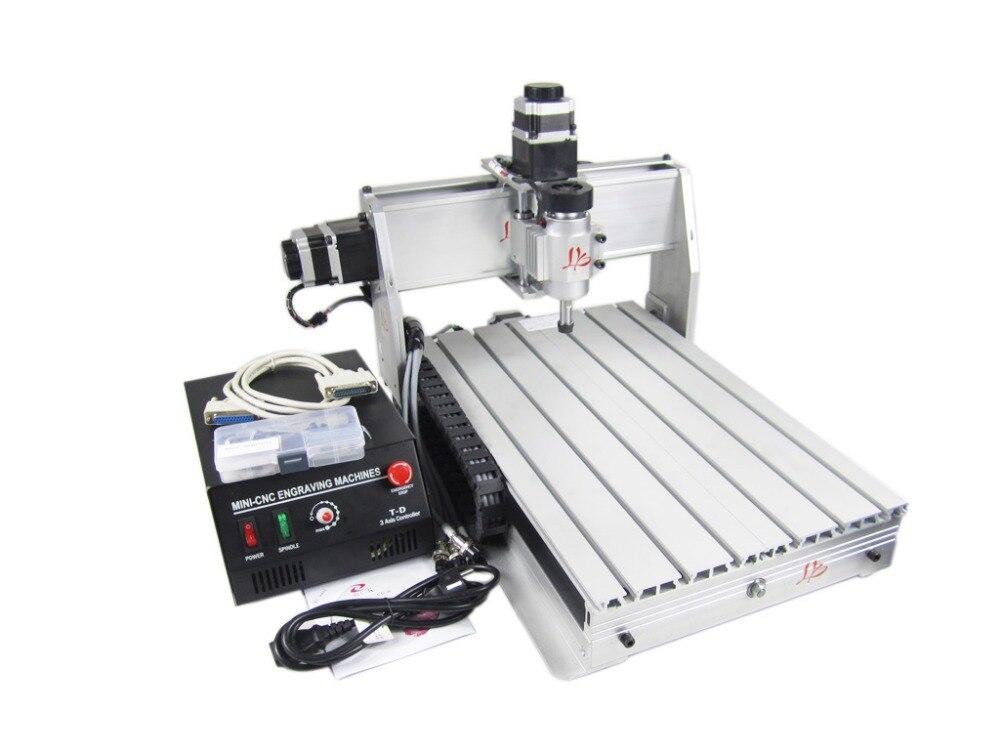 3040T-DJ CNC machine de gravure pour les amateurs de modèles magasin d'affaires CNC sculpture sur bois machine