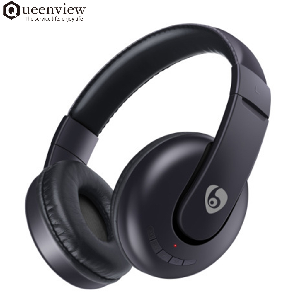 queenview bluetooth wireless headphone casque headset. Black Bedroom Furniture Sets. Home Design Ideas