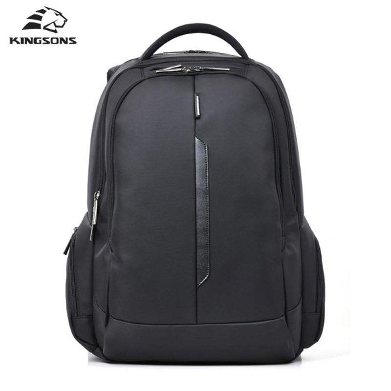 Kingsons Fashion Laptop Backpack Shockproof Nylon Waterproof Men Women Computer Notebook Bag 15.6 inch School Bags for Boy Girls