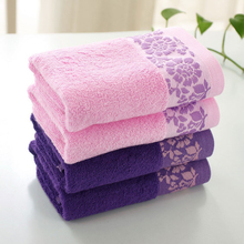 HOT Sale Good Quality Cheap 70cm*34cm Bamboo Towel For Adults Face Towel  Quickly Dry Hair Pink Towels Bathroom