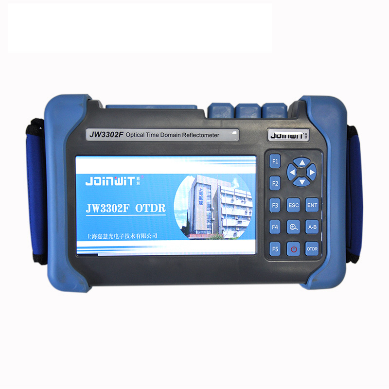 Handheld OTDR JW3302F S1-SM-OTDR-1310-1550nm-32/30dB,Integrated VFL, Touch Screen Optical Time Domain Reflectometer VFL BY DHL