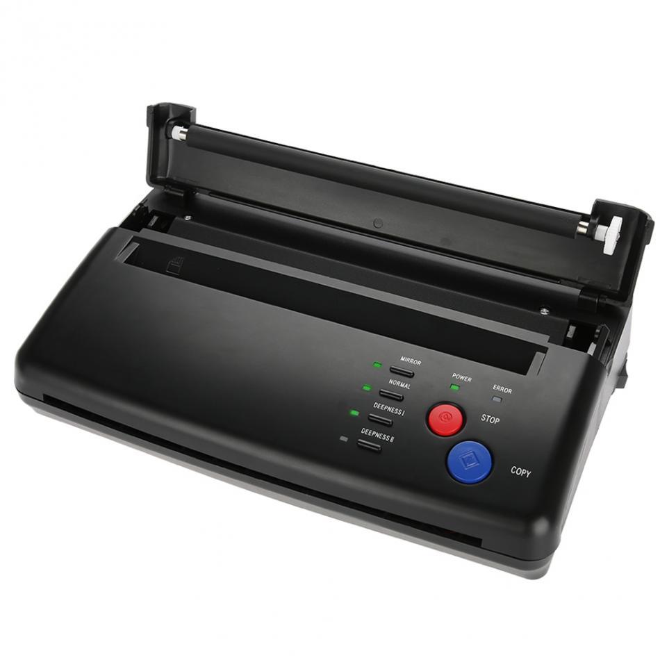 1 maszyna transferowa do tatuażu drukarka do rysowania szablon termiczny do kopiarki do transferu tatuażu dostawa papieru maszyna do makijażu permanentnego