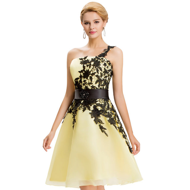 Online Shop 2017 New Arrival One Shoulder Elegant Prom dresses White ...