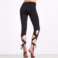 Bandage Sportives pantalon Ballet Esprit D'entraînement Infinity Fitness Leggings Pour Femmes De Danse Capri Pantalon Cadeau 95ZQ84