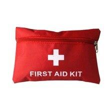 Kit de primeiros socorros para acampamento, bolsa profissional de sobrevivência com kit de primeiros socorros