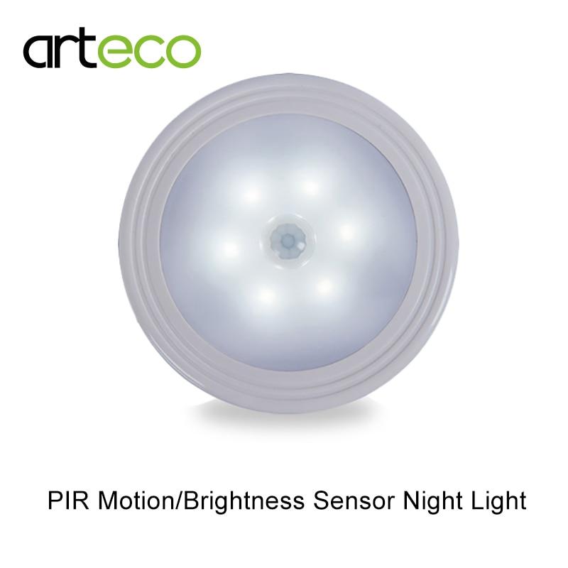Oslo Wall Light With Pir Motion Sensor : Aliexpress.com : Buy Battery Powered LED Sensor Night Light PIR Motion sensor Magnetic Infrared ...