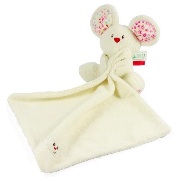 Кэндис Го! Новое поступление милые животные мыши куклы детские игрушки погремушка мягкая успокоить полотенце, игрушка в подарок 1 шт.