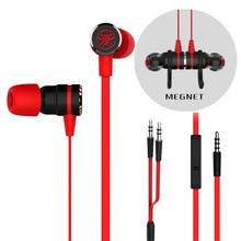 Gaming Earphone Magnet Headset Noise Cancelling