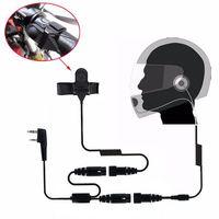 5r bf אופנוע מלאה Face Helmet אוזניות באפרכסת שני הדרך רדיו Baofeng מכשיר הקשר UV-5R UV-5RA פלוס BF-888S GT-3 GT-3TP Mar (1)