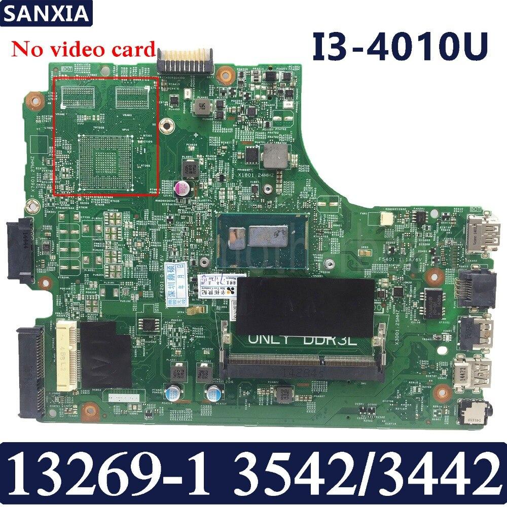 Kefu 13269 1 ноутбука материнская плата для Dell 3542 3442 Тесты Оригинал материнская плата I3 4010U