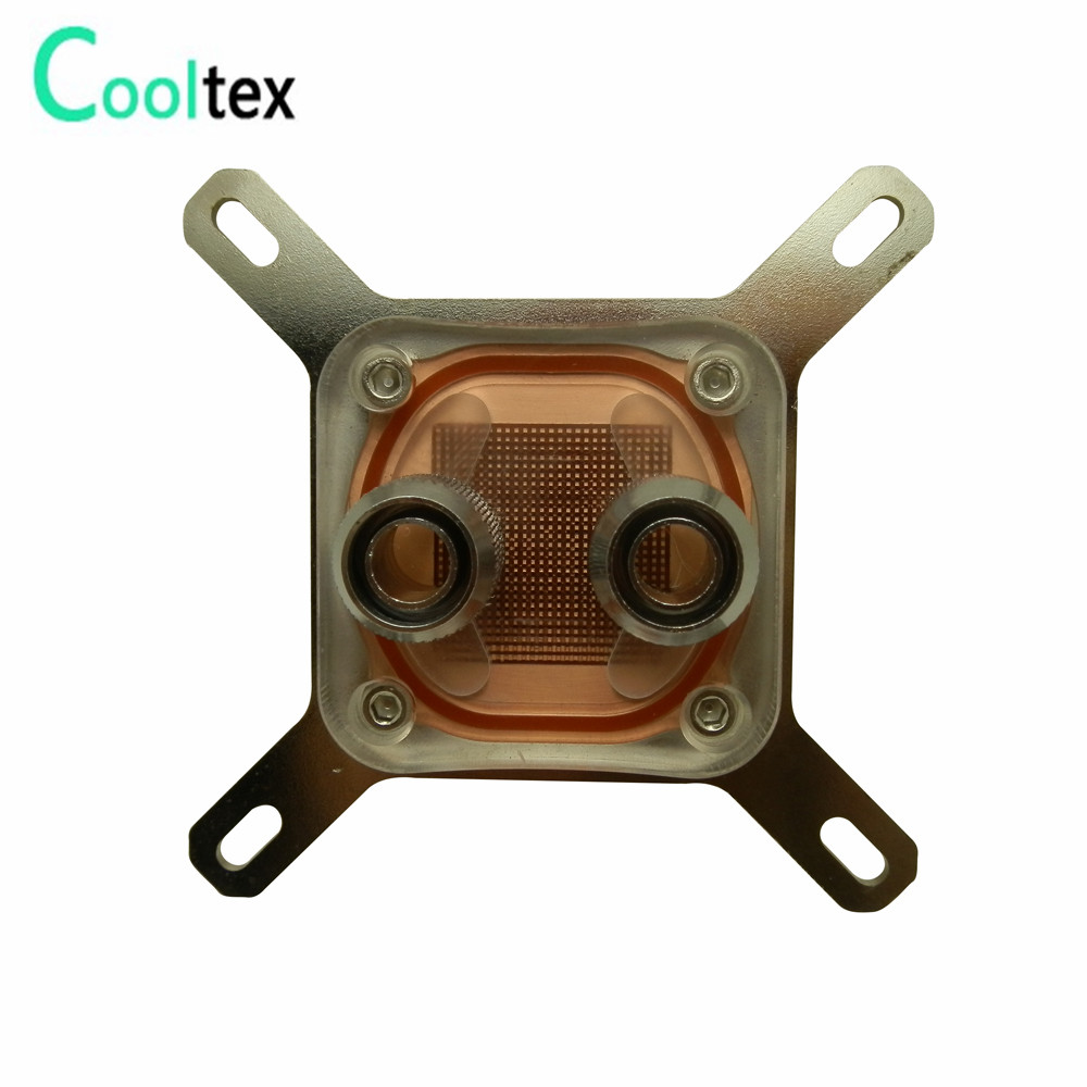 все цены на 100%New CPU Water Block Water Cooling Cooler Computer For Intel LGA775/1155/1156/1150/1366 With Mounting Screws Recommend! онлайн