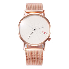 2019 Luxury Brand Women's Watches Rose Gold Stainless Steel Ultra-thin Mesh Quartz Wrist Watches Women Ladies Watch Reloj Mujer цена 2017