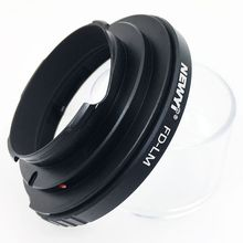 NEWYI FD-LM adapter for Canon FD lens to Leica LM camera with TECHART LM-EA7 Lens Converter Adapter Ring