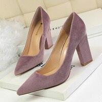 Женские туфли на высоком каблуке, модные женские туфли-лодочки, свадебные туфли на квадратном каблуке, пикантные женские туфли на шпильке