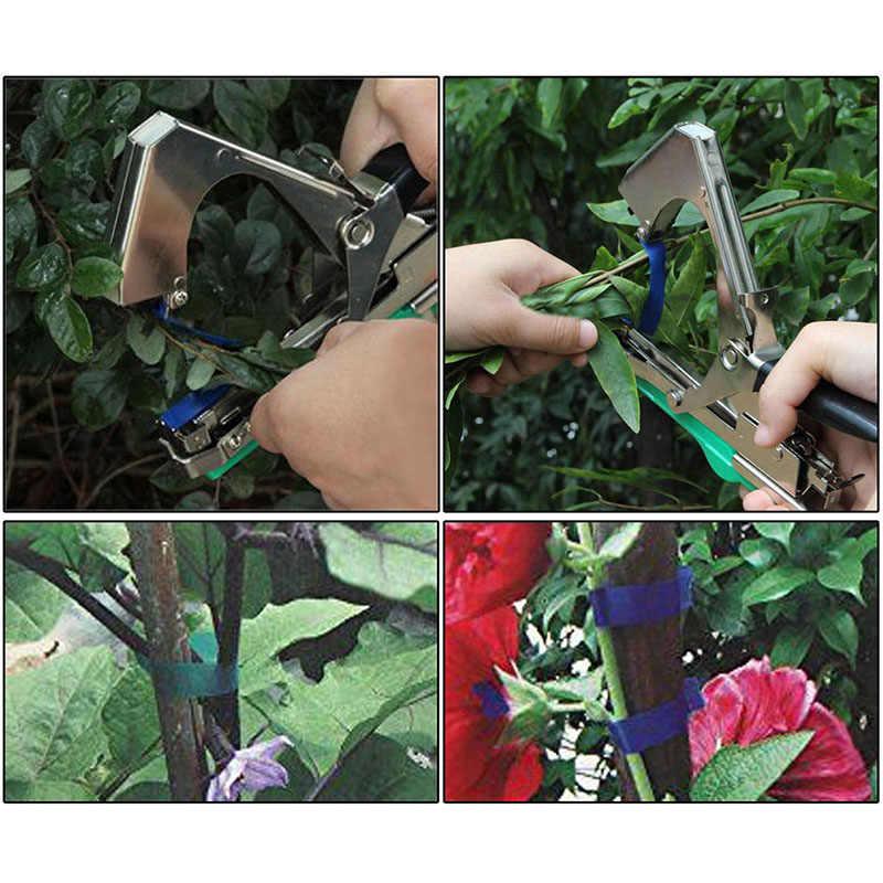 Vigne branche attachant ruban cravate agrafeuse outil à main plante Fruit légume pépinière Prune LO88