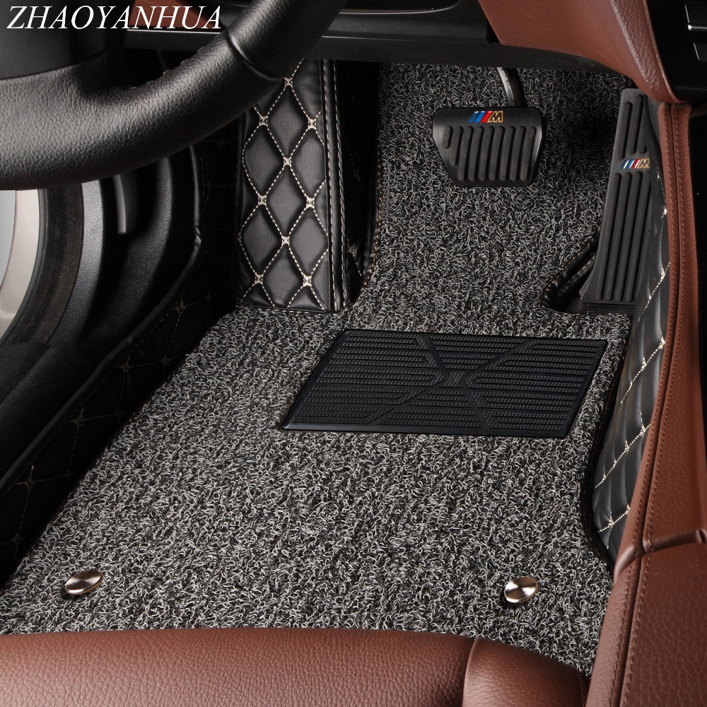 ZHAOYANHUA Car Floor Mats For Lexus J100 LX470 LX 470 J200