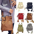 Top Fashion Women Bucket Messenger Bag Retro Handbag Shoulder Messenger Bag Fashion Shoulder Bag Personality 45