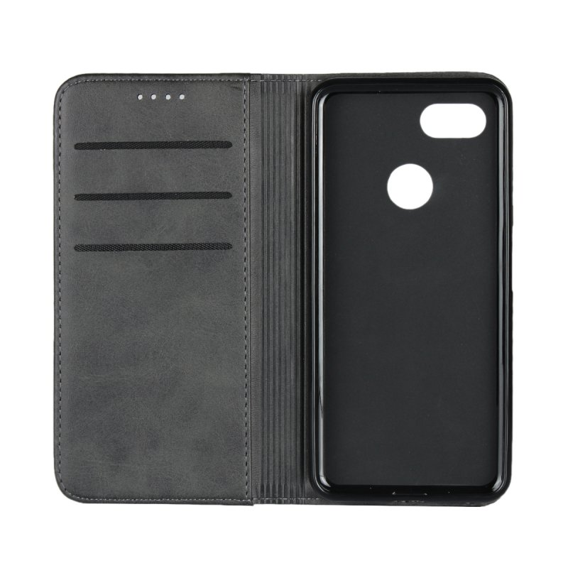 new styles 12edb ca722 US $9.74 25% OFF|Magnetic Case For Google Pixel 3 Leather Cover Wallet Flip  Soft Back Cover Case For Google Pixel 3 Phone Bag Accessory Coque-in ...