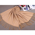 Wholesale Retail Cashmere pashminas scarves Europe and America Women's Tassels Craves Shawl Wrap Multicolor
