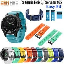 Quick Release Watchband Wriststrap for Garmin fenix 5 Plus/fenix 5/forerunner 935/quatix5/quatix5 Sapphire/Approach S60 Wath
