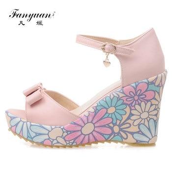 Nuevo De Planos Fanyuan Npkxwo80 Zapatos 2019 Diseño Sandalias Mujer nk80wOP