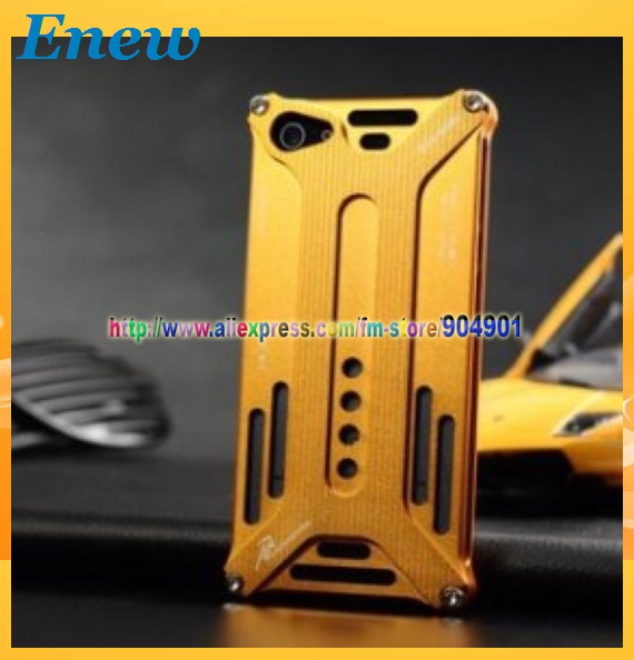 Free shipping by HK POST Newest Arachnophobia Durable Aluminium Metal Bumper Case for iphone 5 5g