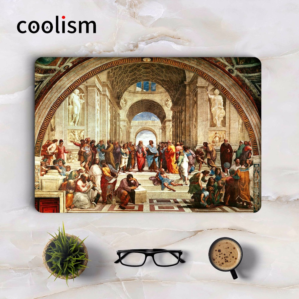 The School of Athens Full Body Cover Skin for Macbook Sticker 13 Pro Air Retina 11 12 15 ...