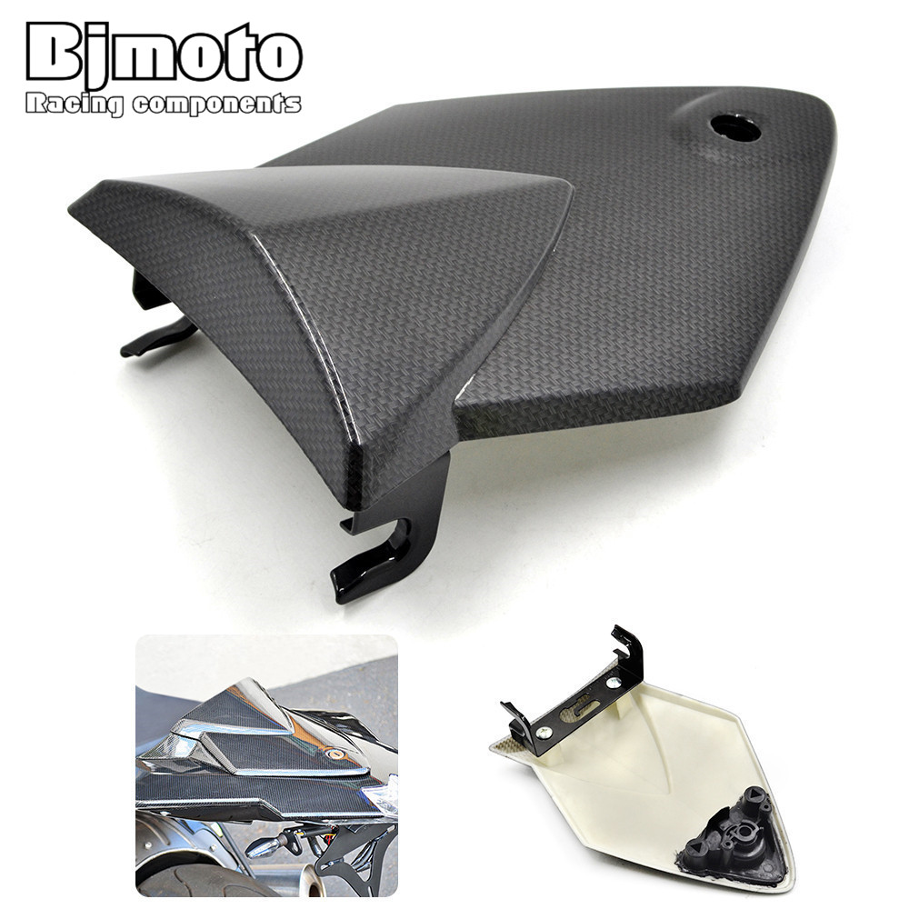 Bjmoto Freeshipping ABS Rear Seat Cover Tail Section Fairing Cowl for BMW S1000 RR S1000RR 2010-2014 motorcycle moto back seat for suzuki gsxr1000 k9 2009 2010 abs plastic motorcycle rear seat cover fairing cowl
