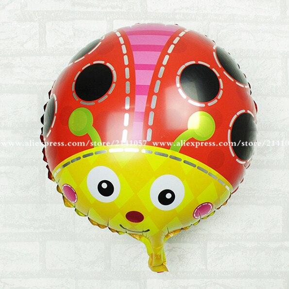 30pcs/lot happy birthday balloons cartoon helium balon letter air balloons foil