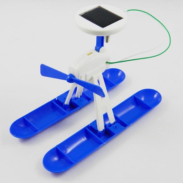 6 IN 1 Solar Toy Educational DIY Robots Plane Kit Creative Children Kid Gift 88   88 AN88