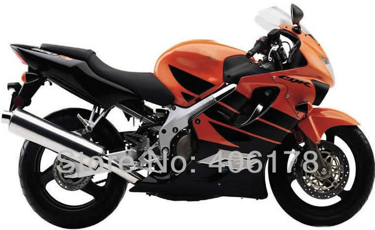 Hot Sales Modified fairing For Honda CBR600 F4 1999 2000 CBR 600 F4 Orange Black Fairings