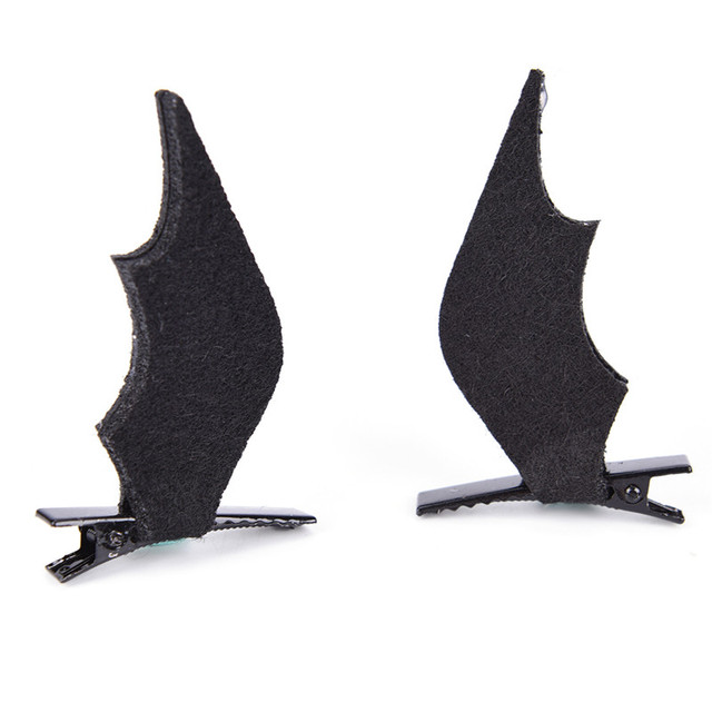 Devil Ali Di Pipistrello Blocco Clip Di Capelli Forcelle Costume Di