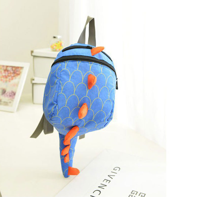 ea2a859c77 DUDINI Lovely Children Backpack Animal Dinosaur Pattern School Bags Canvas  Breathable School Gift For Kids Hot Sale Backpacks-in Backpacks from  Luggage ...