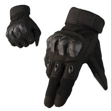 цена на Full / Half Finger Tactical Gloves Armed Combat Paintball Airsoft Outdoor Sports Rubber Knuckle Military Gloves