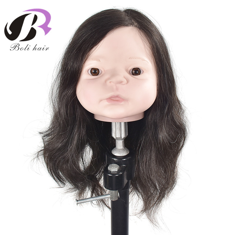 Child Head Mannequin Fashionable Style Mannequin Head Baby Boy with Wig