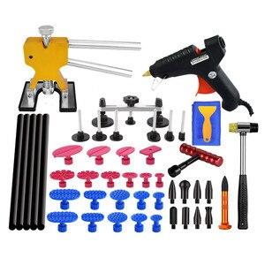 Инструменты для ремонта вмятин на автомобиле, набор для безболезненного удаления PDR Puller для автомобиля SUV, автомобиля, кузова, удаления повр...