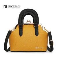 HJPHOEBAG Fashion Women Shoulder Bag Metal Hasp PU Leather Feminine Handbags High Quality New Style Ladies