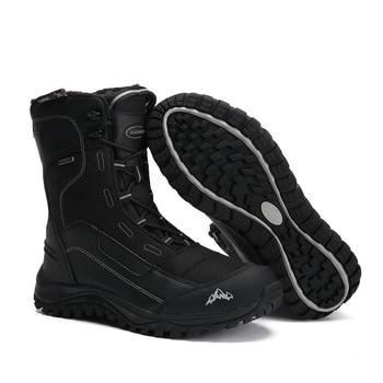 d6d50ed87 Мужские уличные прогулочные ботинки мужские зимние ботинки зимние  Трекинговые ботинки непромокаемые прогулочные ботинки 3 м Thinsulate  thermolite 200.