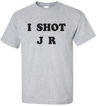 I SHOT J R (FATHER TED) T.SHIRT 2017 New Brand T Shirt Men Summer sportwear casual t-shirt