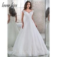 Robe De mariée en grande taille Lover Kiss, Robe de mariée ligne a, Robe De plage, modèle 2020