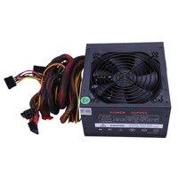 170 260V Max 650W Power Supply Psu Pfc Silent Fan 24Pin 12V Pc Computer Sata Gaming Pc Power Supply For Intel Amd Computer Eu