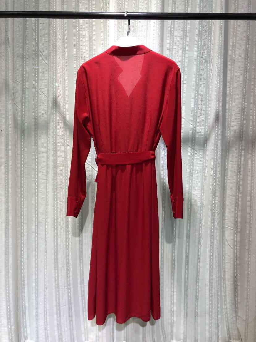 Femmes Luxe Marque Robe Printemps De Mode Haute Style Nouvelles 2019 Design Partie Qualité Européenne D12605 wcW8E8zq0