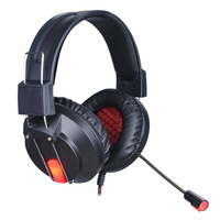 NEW Fashion Gaming Headphone Best Computer Stereo Deep Bass Game Earphone Headset With Mic LED Light